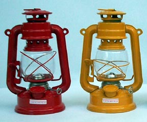 front lantern lawn jockey photo picture oil lamp