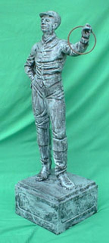 Antique Lawn Jockey statue Photo jpg gif image