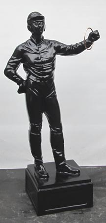 Black Lawn Jockey statue picture Photo jpg gif image