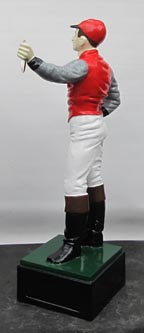 red lawn jockey racing photo, horse jockey acing , kentucky derby horse jockey horee jockey racing  jociey kentuckie kenrtucky jockey