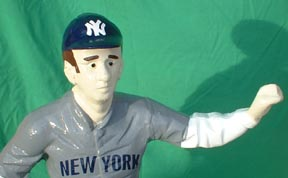 cast iron base ball player mlb statue photo jpg gif avi movie